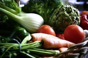 Rat diet fresh vegetables
